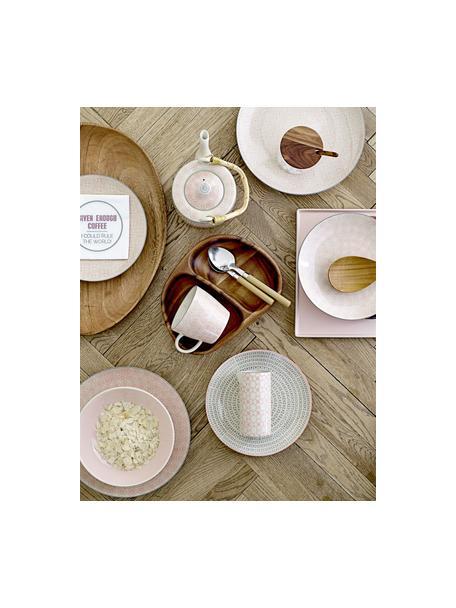 Ontbijtbordenset Cécile, 3-delig, Keramiek, Multicolour, Ø 25 cm