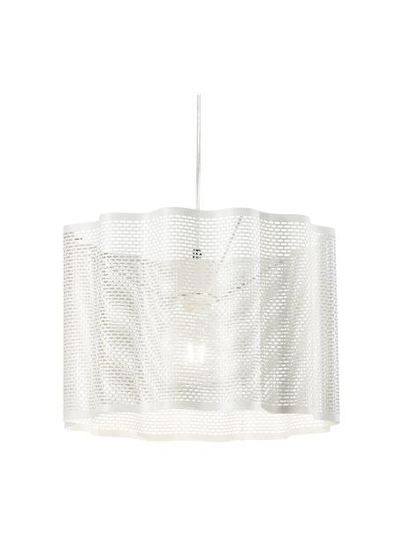 Lámpara de techo Glicine, Pantalla: metal recubierto, Anclaje: metal recubierto, Cable: plástico, Blanco, Ø 40 x Al 28 cm