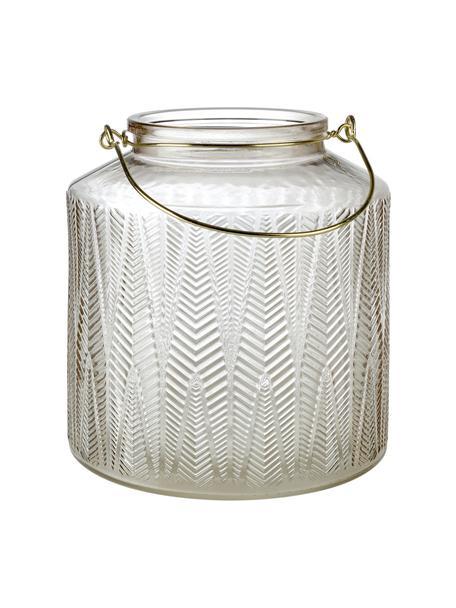 Lanterna Lora, Vetro, Trasparente, Ø 19 x Alt. 20 cm
