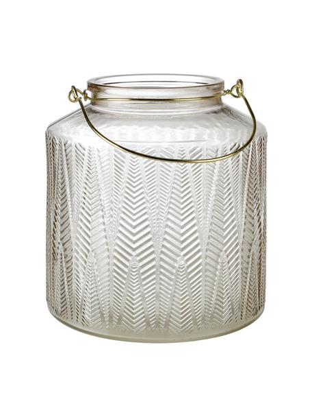 Świecznik Lora, Szklanka, Transparentny, Ø 19 x W 20 cm
