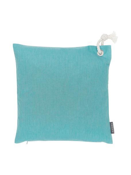 Poszewka na poduszkę zewnętrzną Capri, 100% polipropylen, Turkusowy, S 40 x D 40 cm