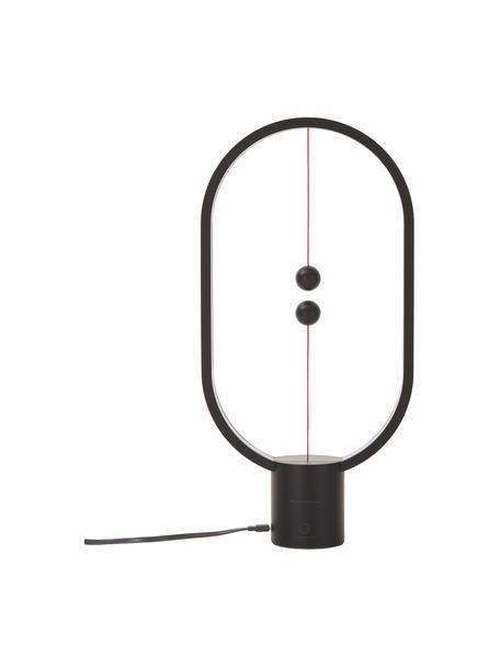 Lampada da tavolo a LED Heng, Lampada: materiale sintetico, Bianco, Larg