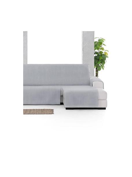 Funda de sofá Levante, 65%algodón, 35%poliéster, Gris, Brazo corto (150 x 240 cm