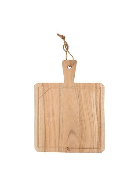 Deska do krojenia z drewna akacjowego Albert, Drewno akacjowe, Drewno akacjowe, D 40 x S 30 cm