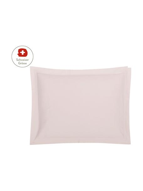 Baumwollsatin-Kissenbezug Premium in Rosa mit Stehsaum, 50 x 70 cm, Webart: Satin, leicht glänzend Fa, Rosa, 50 x 70 cm