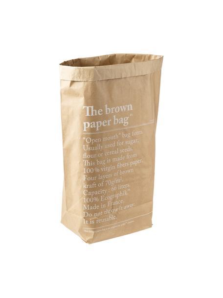 Sacchetto Le sac en kraft brun, Carta in fibra vergine, Marrone, Larg. 50 x Alt. 69 cm