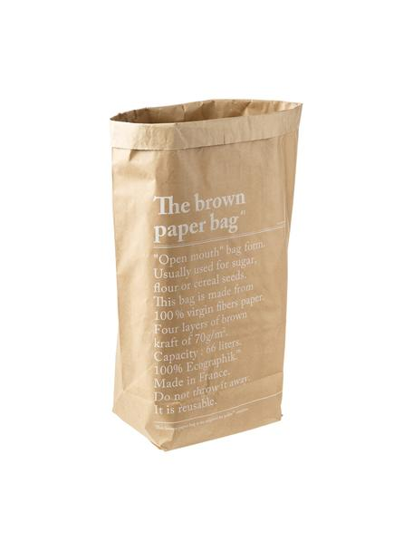 Torba do przechowywania Le sac en kraft brun, Włókno papierowe, Brązowy, S 50 x W 69 cm
