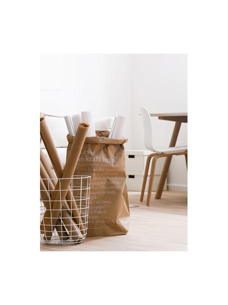 Bolsa de almacenaje Le sac en kraft brun, Papel de fibra virgen, Marrón, An 50 x Al 69 cm