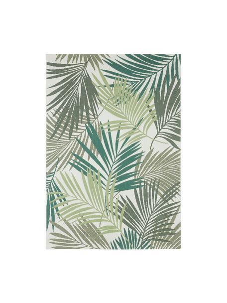 Alfombra de interior/exterior Vai, 100%polipropileno, Tonos verdes, beige, An 80 x L 150 cm (Tamaño XS)