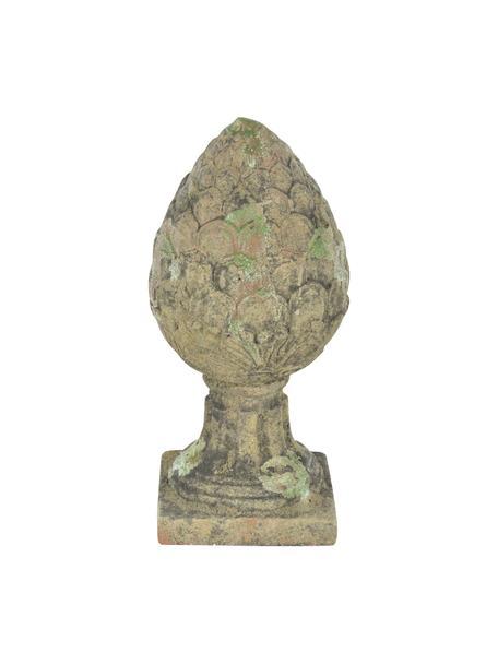 Dekoracja ogrodowa Patina, Terakota, Zielony, beżowy, Ø 18 x W 37 cm