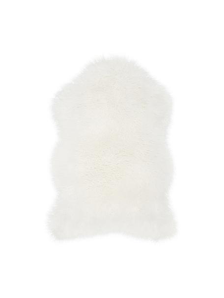 Piel sintética Morten, rizada, Parte delantera: 67%acrílico, 33%poliést, Parte trasera: poliéster, Crema, An 60 x L 90 cm