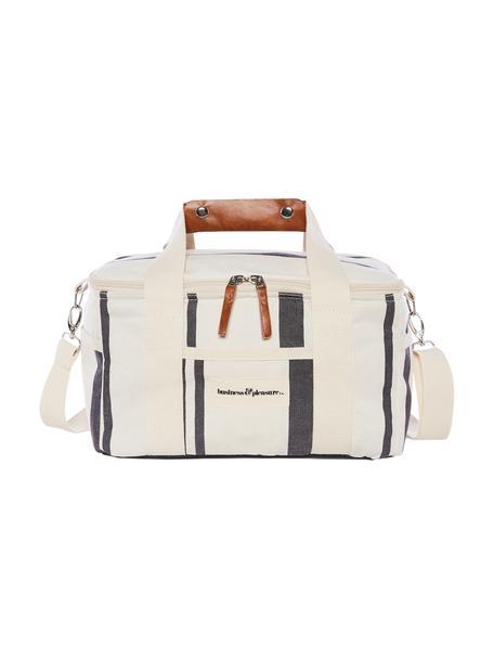 Nevera pórtaltil Vintage, 40%algodón, 40%poliéster, 15%PVC reciclado, 5%cuero, Beige, L 32 x Al 20 cm