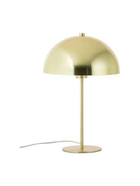 Lámpara de mesa de metal Matilda, Pantalla: metal, latón, Cable: plástico, Latón, Ø 29 x Al 45 cm