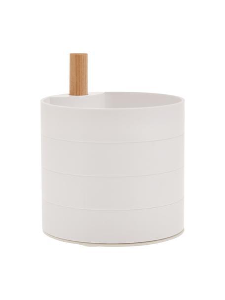 Pudełko na biżuterię Tosca, Biały, brązowy, S 10 x W 12 cm