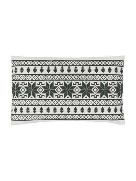 Poszewka na poduszkę Fenna, 100% bawełna, Zielony, S 30 x D 50 cm