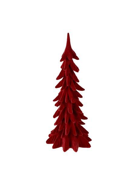 Dekoracja Tanne, Poliresing, Czerwony, S 19 x W 41 cm