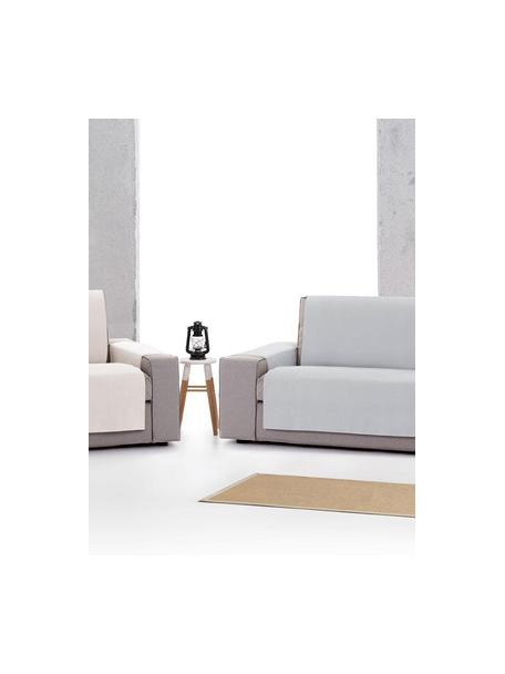 Narzuta na sofę Levante, 65% bawełna, 35% poliester, Szary, S 190 x D 220 cm