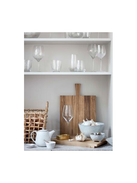 Handgemaakte dipschalen Nordic Sand Ø 11 van keramiek, 4 stuks, Keramiek, Zandkleurig, Ø 11 x H 6 cm