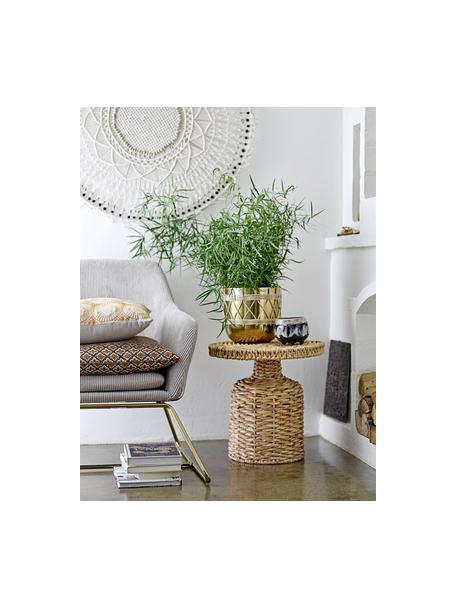 Kleine handgemaakte plantenpot Sasa van terracotta, Terracotta, Multicolour, Ø 14 cm