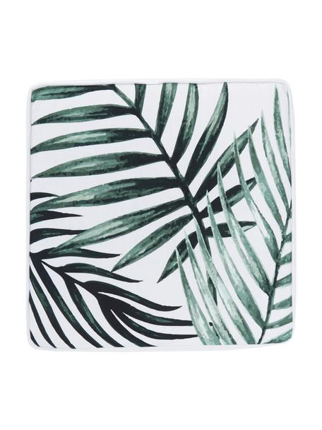 Cuscino sedia alto Coast, Rivestimento: 100% cotone, Verde, Larg. 40 x Lung. 40 cm