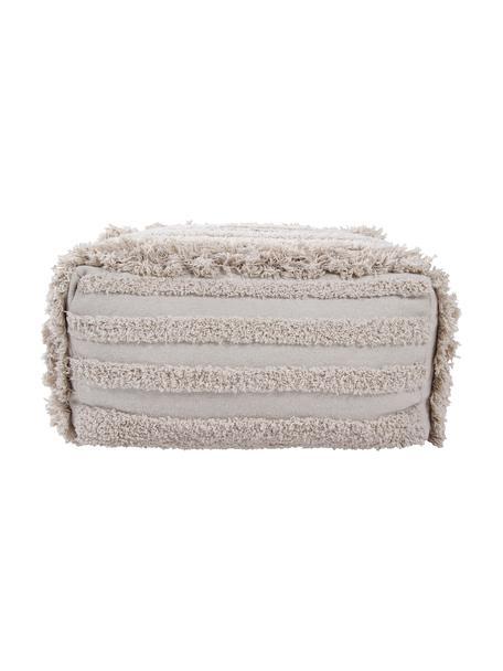 Cojín de suelo Air, estilo boho, Funda: 90%algodón, 10%algodón , Beige, An 54 x Al 27 cm