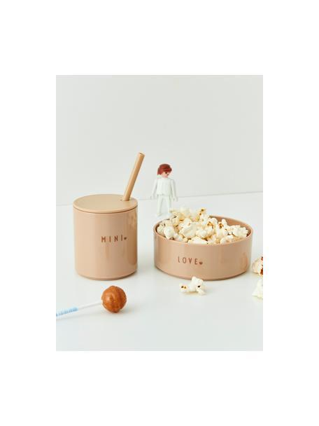 Kinderkom Mini Favourite, Tritan (kunststof), BPA-, BPS- en EA-vrij, Beige, Ø 11 x H 5 cm