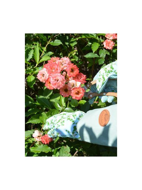 Rękawice ogrodnicze Rose, Poliester, bawełna, PVC, PU, Wielobarwny, S 18 x W 38 cm