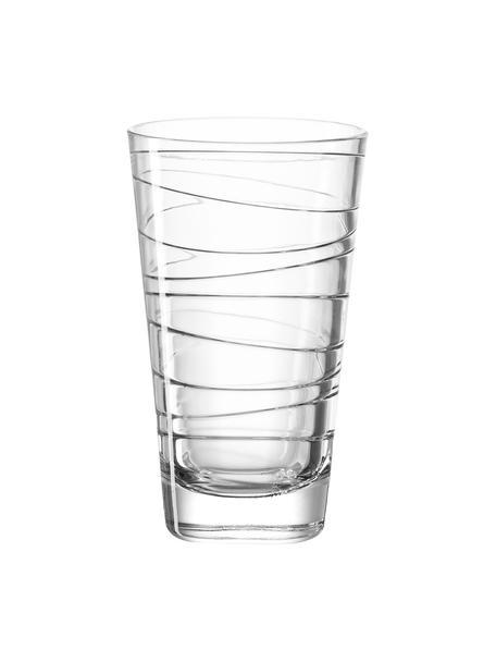 Szklanka Vario, 6 szt., Szkło sodowo-wapniowe, Transparentny, Ø 8 x W 13 cm