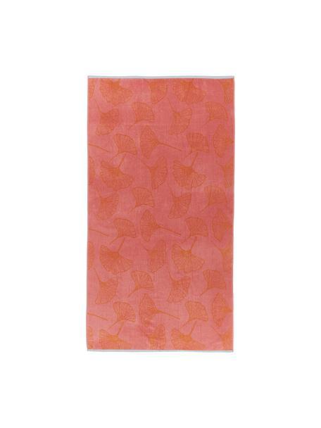 Ręcznik plażowy Burnt Sky, 100% bawełna, Blady różowy, S 100 x D 180 cm