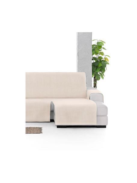 Narzuta na sofę narożną Levante, 65% bawełna, 35% poliester, Beżowy, S 150 x D 290 cm