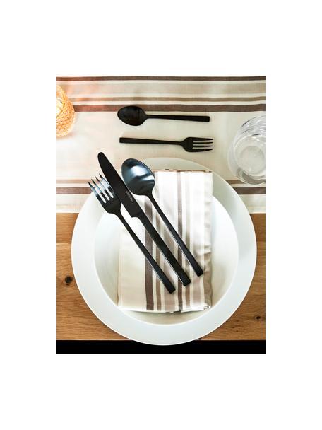 Set van 2 porseleinen dinerborden Delight Modern in wit, Porselein, Wit, Ø 27 cm