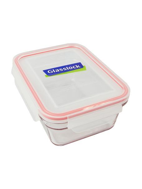 Contenitore per alimenti Bea 2 pz, Contenitore: vetro temperato, privo di, Trasparente, rosa, Larg. 18 x Alt. 7 cm