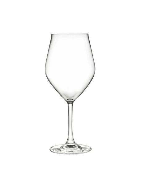 Copas de vino de cristal Eno, 6uds., CristalLuxion, Transparente, Ø 10 x Al 22 cm