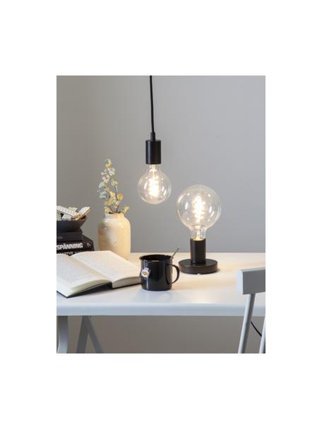 E27 Leuchtmittel, 4W, dimmbar, warmweiss, 1 Stück, Leuchtmittelschirm: Glas, Leuchtmittelfassung: Aluminium, Transparent, Ø 10 x H 14 cm