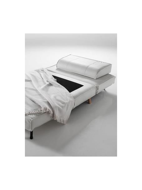 Sillón cama Shift, Ecopiel Madera de haya, Blanco, An 85 x Al 80 cm