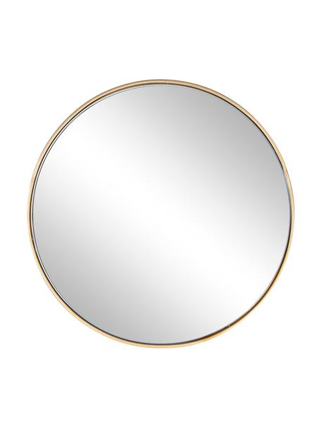 Espejo de pared redondo Nucleos, Espejo: cristal, Latón, Ø 40 cm