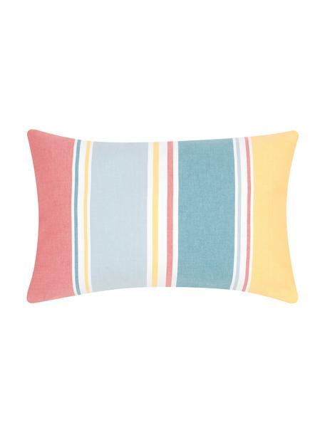 Federa arredo a righe colorate Linea, 100% cotone, Multicolore, Larg. 30 x Lung. 50 cm