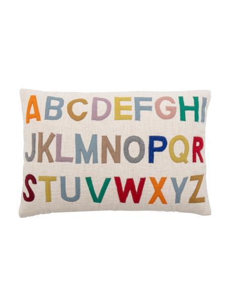 Poduszka z wypełnieniem Lexi, Tapicerka: 100% bawełna, Beżowy, wielobarwny, S 40 x D 60 cm