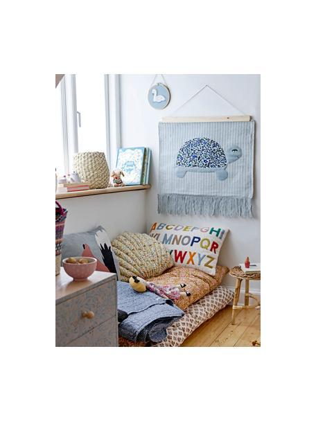 Cuscino con imbottitura Lexi, Rivestimento: 100% cotone, Beige, multicolore, Larg. 40 x Lung. 60 cm