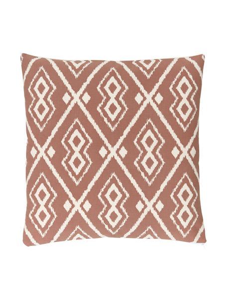 Poszewka na poduszkę w stylu boho Delilah, 100% bawełna, Terakota, S 45 x D 45 cm