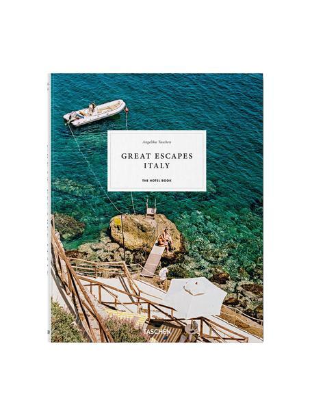 Geïllustreerd boek Great Escapes Italy, Papier, hardcover, Blauw, multicolour, 24 x 31 cm