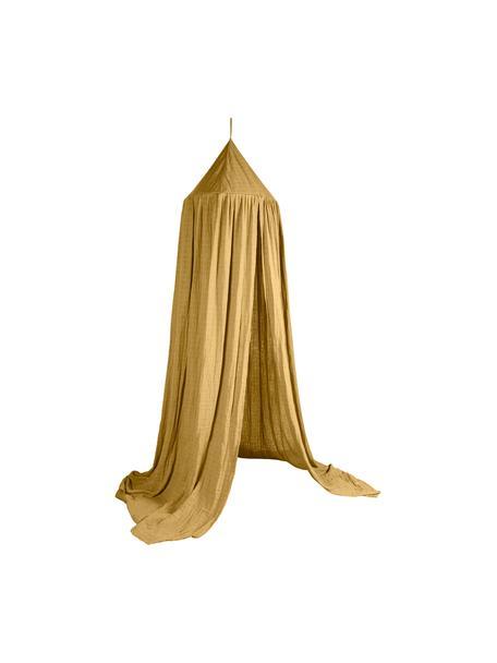 Baldachim Stars, Tapicerka: bawełna, Żółty, Ø 50 x W 240 cm