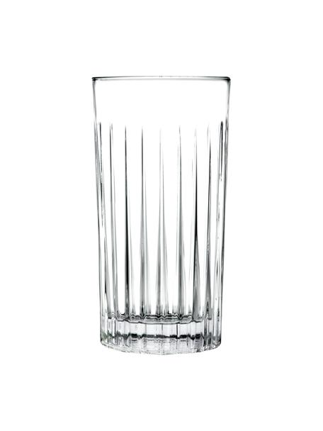 Kryształowa szklanka do koktajli Timeless, 6 szt., Szkło kryształowe Luxion, Transparentny, Ø 8 x W 15 cm