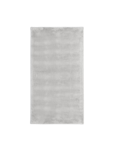 Miękki dywan z wiskozy premium z połyskiem Grace, Szary, S 80 x D 150 cm (Rozmiar XS)