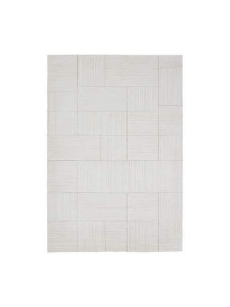 Flauschiger Hochflor-Teppich Lawrence, 55% Polyester, 45% Polypropylen, Naturweiß, Beige, B 200 x L 290 cm (Größe L)