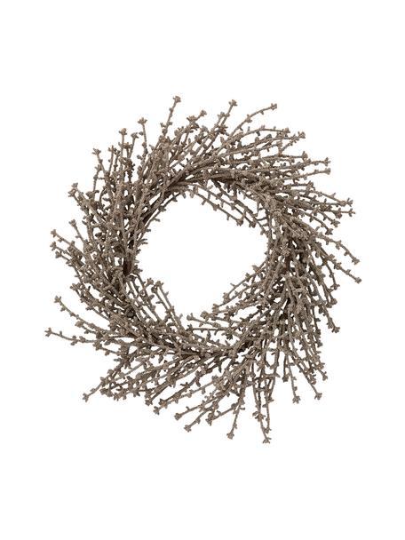 Wieniec Florisa, Tworzywo sztuczne, Odcienie szampańskiego, Ø 40 x W 6 cm