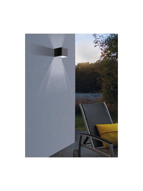Applique a LED da esterno Doninni, Struttura: alluminio, Antracite, Larg. 14 x Alt. 8 cm