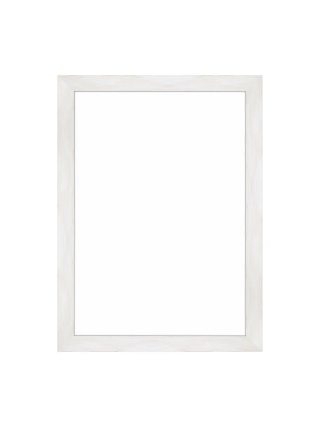 Bilderrahmen Magic, Rahmen: Monterey-Kiefernholz, lac, Front: Glas, Rückseite: Mitteldichte Holzfaserpla, Weiss, 21 x 30 cm