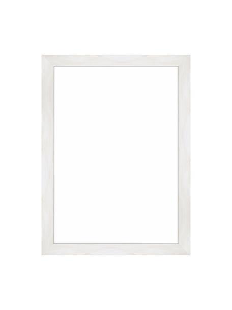 Cornice bianca Magic, Cornice: legno di pino Monterey, v, Retro: Pannello di fibra a media, Bianco, 21 x 30 cm
