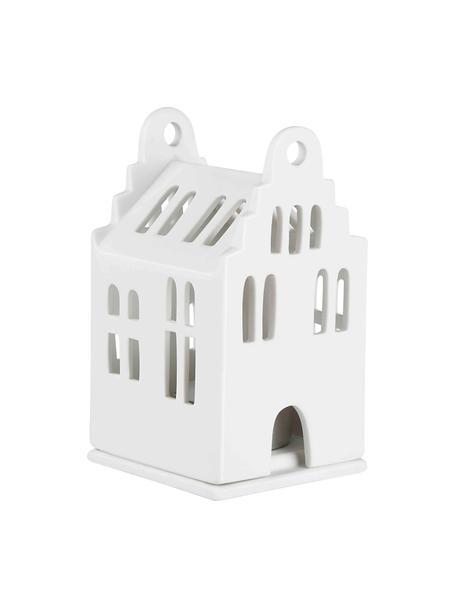 Porzellan-Lichthaus Living in Weiß, Porzellan, Weiß, 7 x 11 cm